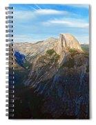 Yosemite Glacier Point Panorama Spiral Notebook