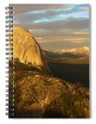 Yosemite Half Dome Spiral Notebook