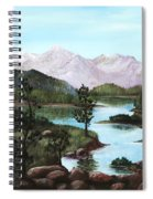 Yosemite Meadow Spiral Notebook