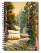 Yosemite Tent Cabins Spiral Notebook