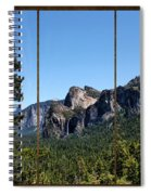 Yosemite Triptych Spiral Notebook