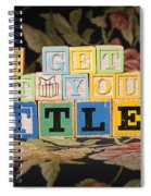 You Get What You Settle For Spiral Notebook
