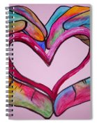 You Hold My Heart In Your Hands Spiral Notebook