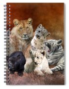 Young And Wild Spiral Notebook