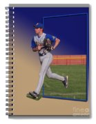 Young Baseball Athlete Spiral Notebook