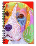 Young Beagle  Spiral Notebook