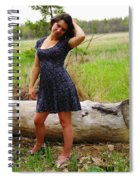 Young Beauty Spiral Notebook