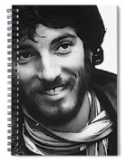 Young Bruce Springsteen Spiral Notebook