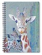 Young Giraffes Spiral Notebook