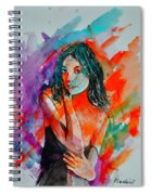 Young Girl 52622 Spiral Notebook