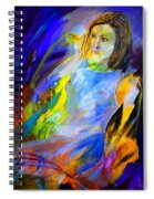 Young Girl 5751202 Spiral Notebook