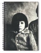 Young Girl Original Spiral Notebook