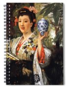 Young Japanese Lady Spiral Notebook