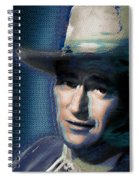 Young John Wayne Pop 2 Spiral Notebook