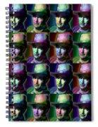 Young John Wayne Pop Repeat Spiral Notebook