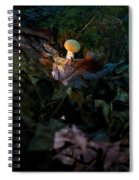Young Lonely Mushroom Spiral Notebook