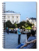 Young Lovers And Other Strangers - Moscow- Russia Spiral Notebook