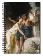 Young Lovers Mocking Pan Spiral Notebook