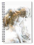 Young Man Spiral Notebook