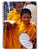 Young Monks Spiral Notebook
