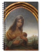 Young Mother Of Urbino Spiral Notebook