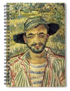 Young Peasant Spiral Notebook
