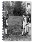 Young Photographer, C1915 Spiral Notebook
