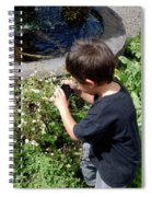 Young Photographer Spiral Notebook