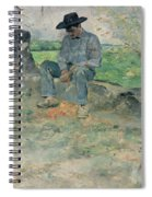 Young Routy At Celeyran Spiral Notebook