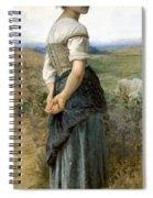 Young Shepherdess Spiral Notebook