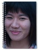 Young Thai Girl Spiral Notebook