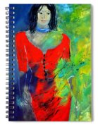 Young Woman 6431 Spiral Notebook