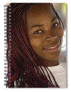 Young Woman Costa Rica Spiral Notebook