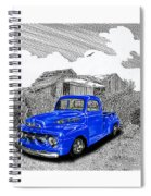 Your 1952 F 100 Pick Up In N M  Spiral Notebook