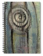 Your Light Blue Towers Rise Up Spiral Notebook