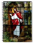 Your Shepherd Is Knocking Spiral Notebook