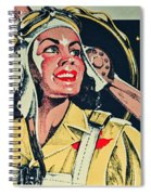 Your Thirst Takes Wings Spiral Notebook