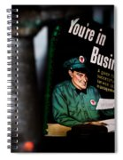 Youre In Business Spiral Notebook