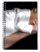 You're In Good Hands -  Featured In 'comfortable Art' And Notecard Possibilities Groups Spiral Notebook