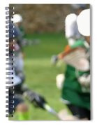 Youth Lacrosse Spiral Notebook