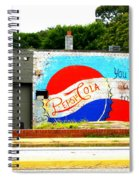 You've Got A Life To Live Pepsi Cola Wall Mural Spiral Notebook