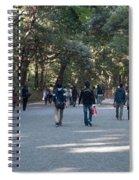Yoyogi Park Spiral Notebook