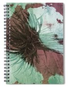 Yucca Abstract Sage And Mauve Spiral Notebook