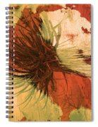 Yucca Abstract Warm Spiral Notebook