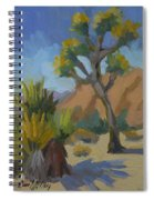 Yucca And Joshua Spiral Notebook