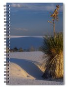 Yucca At White Sands Spiral Notebook