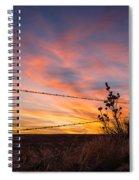 Yucca Sunset Spiral Notebook