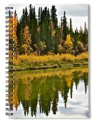 Yukon Autumn Spiral Notebook