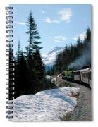 Yukon Railroad Spiral Notebook