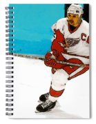 Yzerman Stick Spiral Notebook